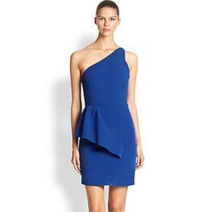 Halston Heritage NWT Blue Cocktail Dress